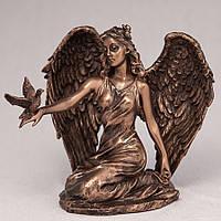 """Статуэтка Veronese """"Ангел с голубем"""" (12 см) 76000 A1"""