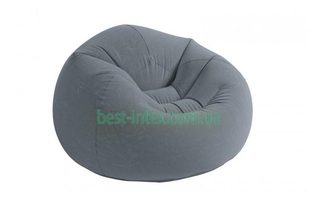 Надувное кресло Intex Beanless Bag Chair 68579 (107х104х69 см.)