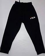 Подростковые спортивные штаны оптом 116-122-128-134-140 чёрные