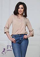 Воздушная женская блуза 003В/03, фото 1