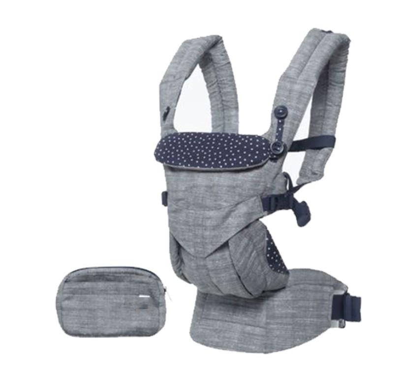 Рюкзак-кенгуру ErgoBaby Hipseat Backpack для перенесення дітей Сірий (SUN4723)