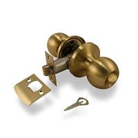 Дверные ручки. APECS Защелка 6072-03 Матовое золото