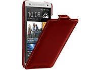 Чехол для HTC One mini M4 - Vetti Craft flip Normal Series, красный