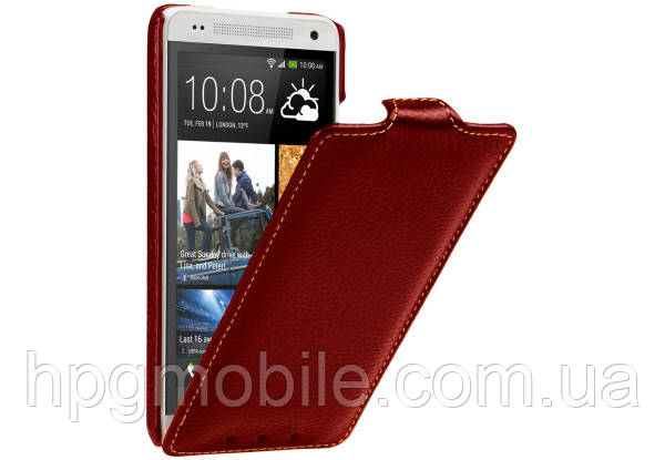 Чехол для HTC One mini M4 - Vetti Craft flip Normal Series, красный
