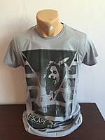 Мужская футболка серая Турция Tom Hardy