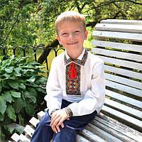 Вышиванка  рубашка   для мальчика  с вышивкой гуцулка