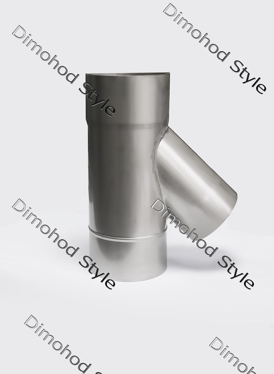 Тройник 45° из нержавеющей стали