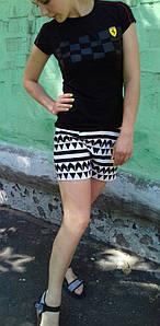 Женские шорты. Ластик