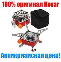 Самая компактная портативная газовая плита с пьезоподжигом k-202, новинка 2019!