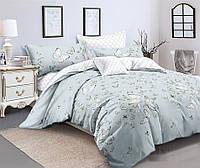 Двуспальный комплект постельного белья 180*220 сатин (12178) TM КРИСПОЛ Украина