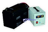 ДБЖ LPY-PSW-500 + Акумулятор LP-100 Ah = 8-12 год автономної роботи котла опалення!, фото 1