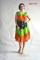 Яркое летнее легкое платье от производителя в Украине