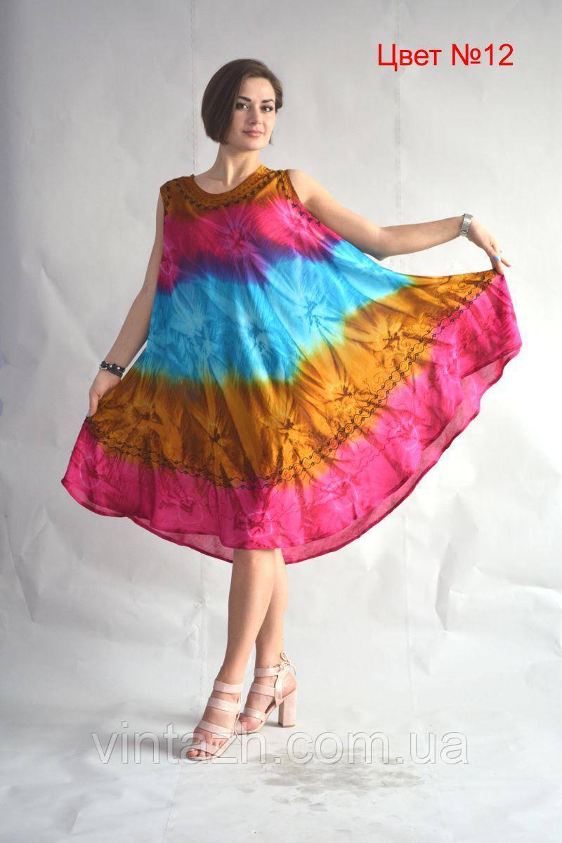 Яркое  легкое платье от производителя в Украине