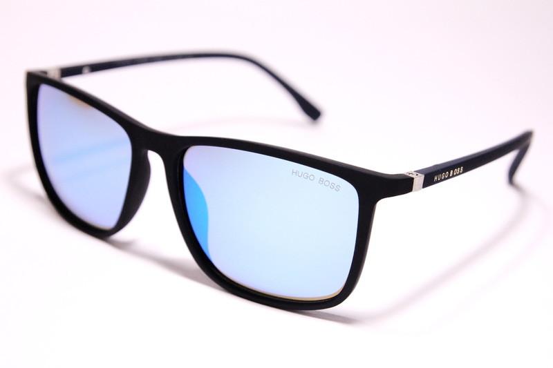 5e446e3c18d1 Мужские солнцезащитные очки Hugo Boss 9436 C4 квадратные светло-голубые