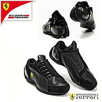 Кроссовки. Реплика FERRARI BLACK. Мужская обувь