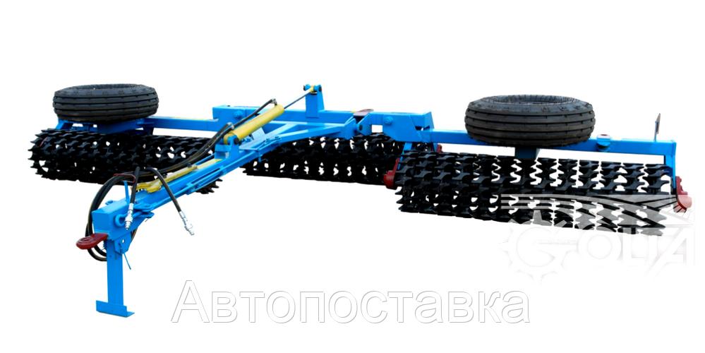 Каток кольчато-шпоровой гидрофицированный  ККШ-6Г-01