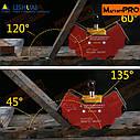 Многоугольный магнитный зажим (магнитная струбцина) MWC4S, фото 5