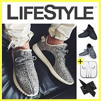 Стильные кроссовки Adidas Yeezy Boost 350 (35-42 размер) + 2 Подарка