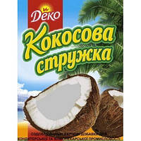 """""""ДЕКО"""" Кокосовая стружка 20г (белая) (1 * 20/120)"""