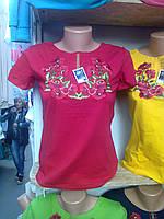 Вышитая женская футболка   3395  (С.И.Р.) АКЦИЯ, фото 1