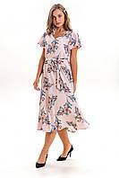 Платье K&ML 525 розовый 50, фото 1
