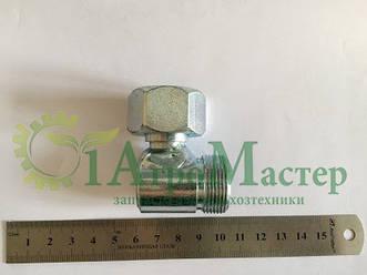 Штуцер угловой S32-S32 (М27х1.5 гайка-М27х1.5)