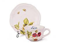 Чайный сервиз 12 пр. Берис Lefard 180 мл., набор чашек с блюдцами