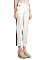 Женские оригинальные белые брюки Karl Lagerfeld, фото 1
