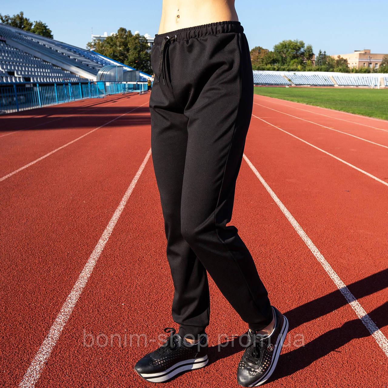 Черные женские спортивные штаны