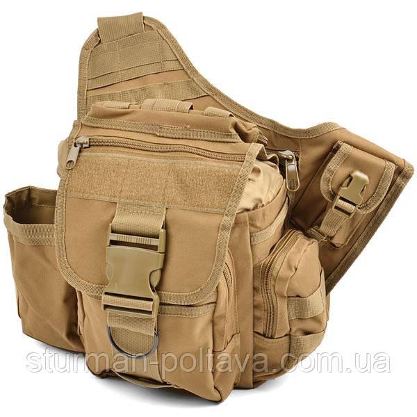 Сумка тактична койот ROTHCO ADVANCED TACTICAL BAG