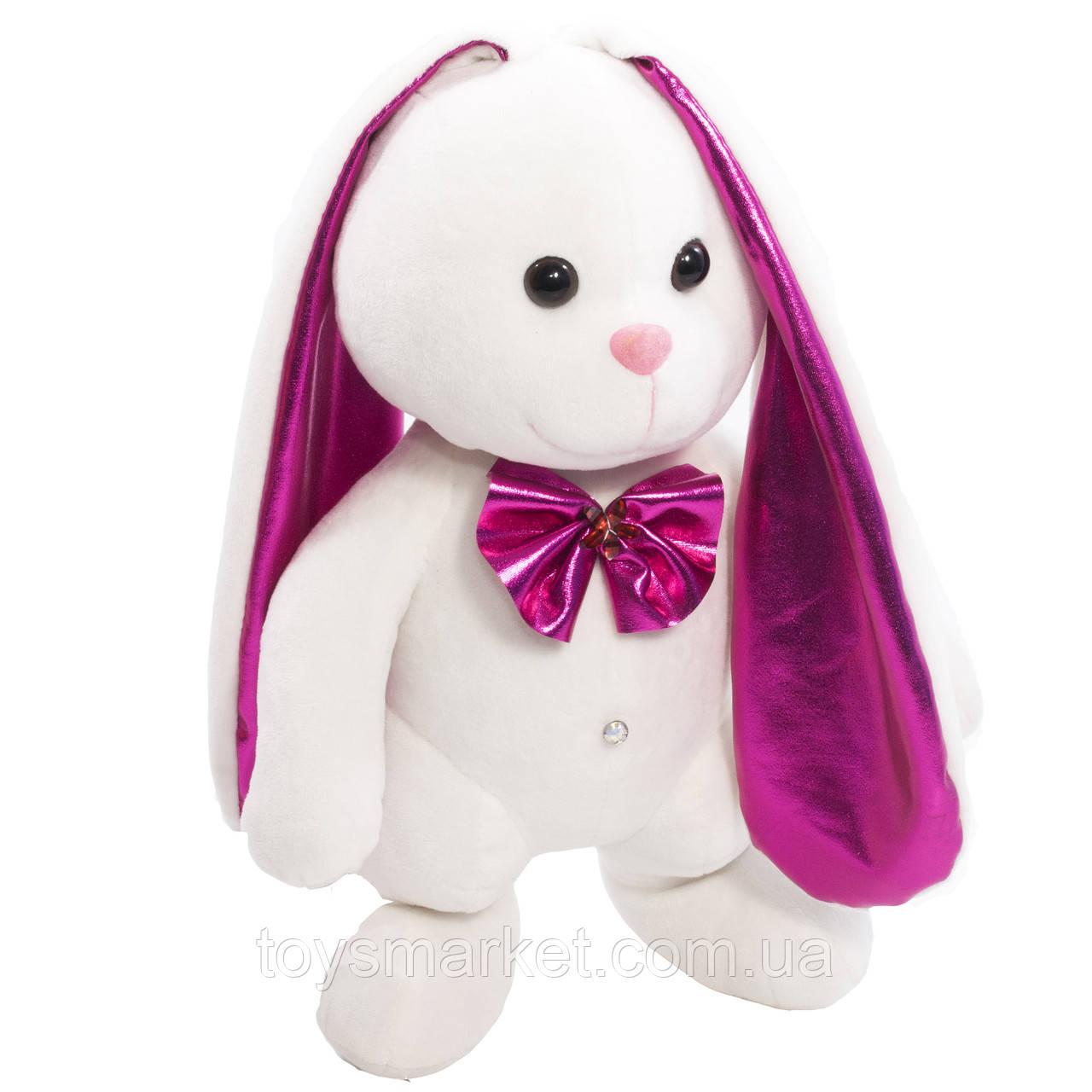 Мягкая игрушка Зайка Мупси с переливающимися ушками