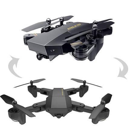 Квадрокоптер Phantom D5HW c WiFi Камерой, летающий дрон + Складывающийся корпус, фото 2