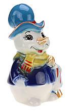 Снеговик - копилка ( сувенир на новый год ) MSE