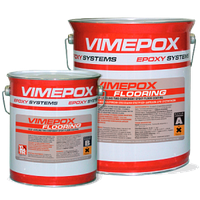 VIMEPOX FLOORING Двухкомпонентное эпоксидное самовыравнивающееся покрытие для полов.