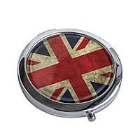 """Зеркальце карманное """"Great Britain flag"""""""
