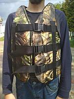 Рятувальний жилет для полювання, риболовлі 70-90 кг Камиш