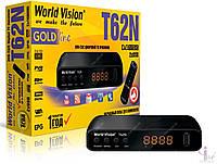 Цифровой DVB-Т2 тюнер World Vision T62N-T USB HDMI