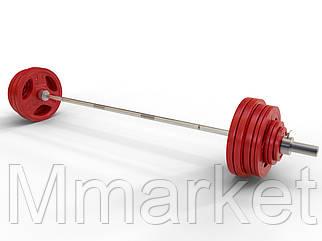 Штанга наборная олимпийская 200 кг 2.2 м
