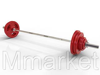 Штанга наборная олимпийская 150 кг 2.2 м