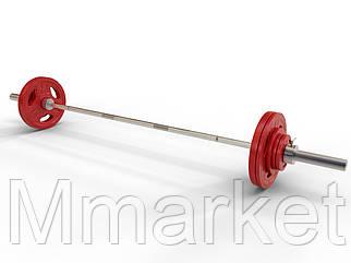 Штанга наборная олимпийская 95 кг 2.2 м