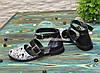 Туфлі жіночі шкіряні на низькому ходу, колір чорний, фото 2