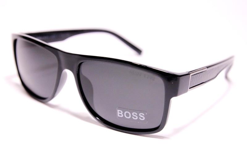 8c1056a79ab6 Мужские солнцезащитные очки Hugo Boss P1843 C1 квадратные черная линза