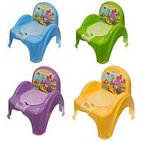 Детский горшок-кресло Tega Safari SF-010 (Горшок-стульчик Тега Сафари) 5 цветов