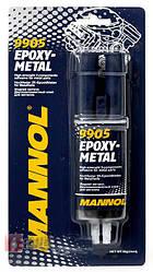 """Клей """"Рідкий метал"""" MANNOL EPOXY-METAL 9905"""