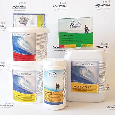 Комплект препаратов для бассейна «Big XL»