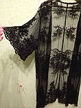 Солнцезащитная одежда длинный кружевной кардиган пляжная мода , фото 7