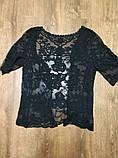 Солнцезащитная одежда кружевная накидка розы пляжная мода , фото 9