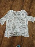 Солнцезащитная одежда кружевная накидка розы пляжная мода , фото 10