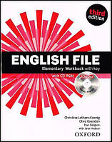 English File Third Elementary Workbook with key and iChecker