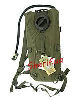 Гидратор 3 литра (бак для воды) Spec MIL-TEC Olive